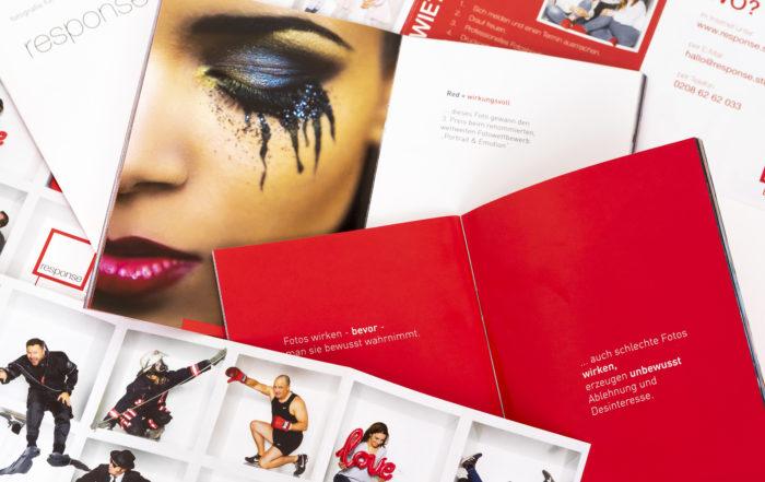 Die richtige Gestaltung ihrer Flyer hat einen positiven Eindruck auf ihren Kunden.