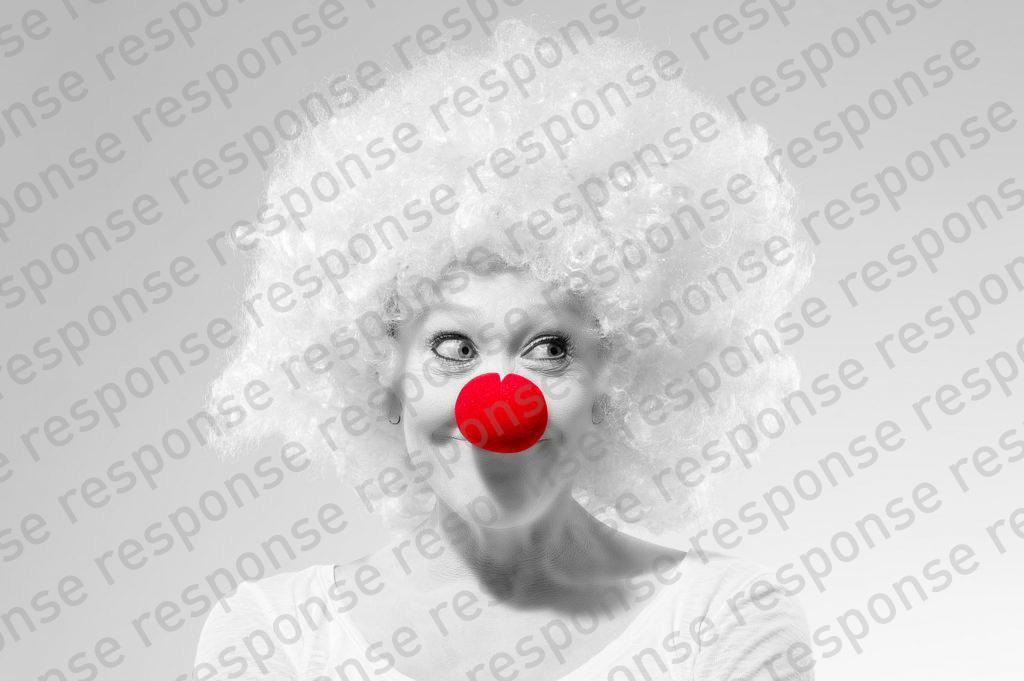 Clown Response Wirkungsvoll