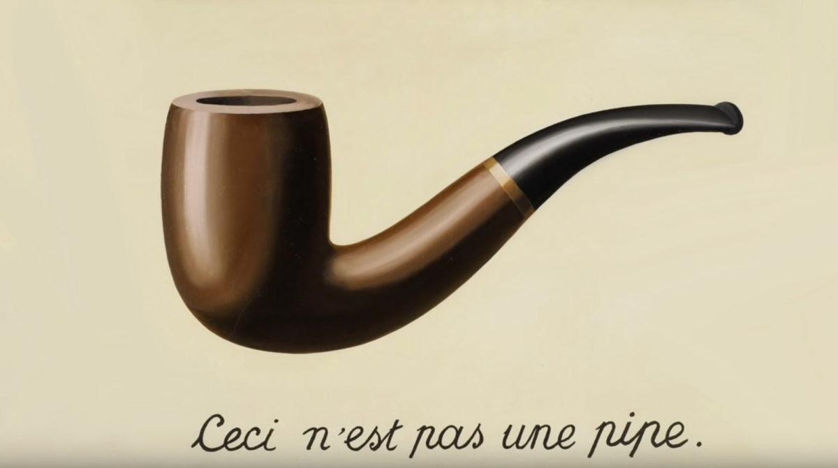 braune-Pfeife-Gemälde-Schriftzug