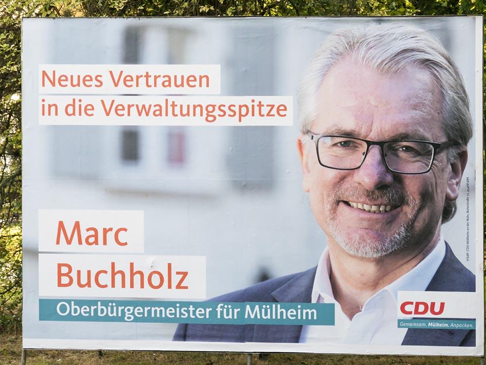 wenig Wirkung beim CDU Plakat